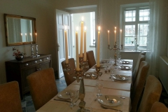 the seperate dining room
