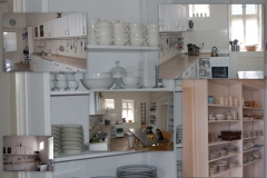 the well equiped kitchen